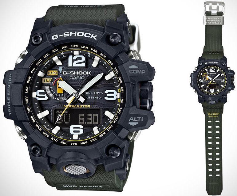 Часы Casio G-Shock GWG-1000-1A3 Mudmaster
