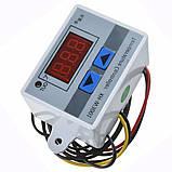 10А  220В  LED цифровой температуры контроллер Термостат переключатель управления, фото 3