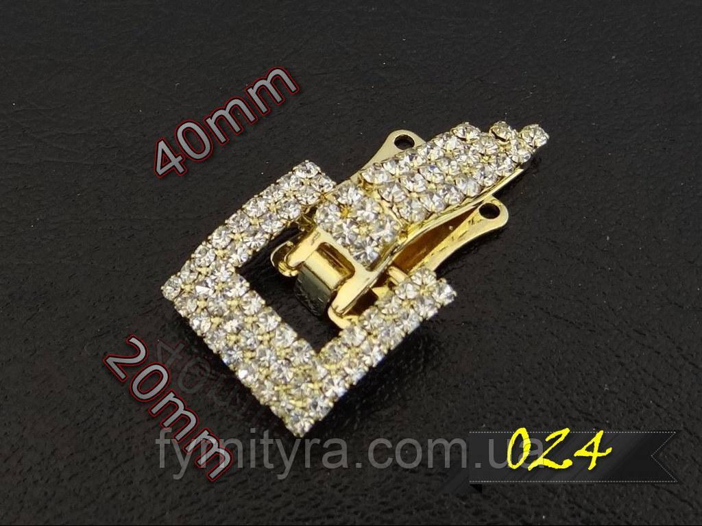 Клипса шубная (шубный крючек) 024 gold