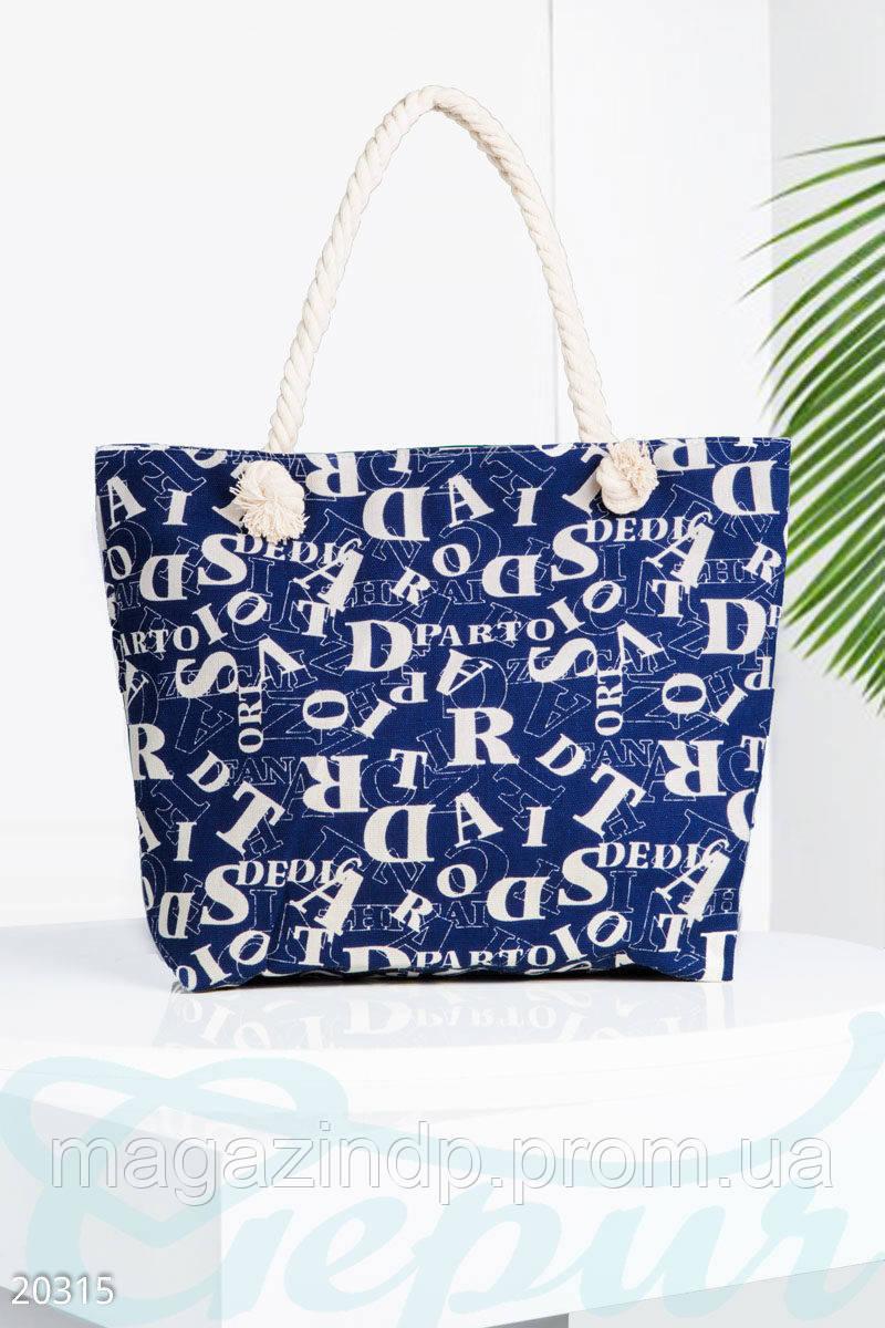 95c4cbcd6e4f Пляжная сумка с принтом
