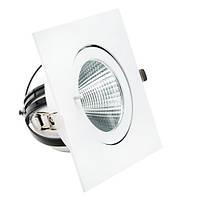 Встраиваемый LED светильник VL-XP02F 30W белый 40° для торговый помещений
