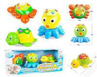 Игровой набор для малышей интерактивные музыкальные животные Волшебный аквариум 65159