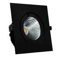 Встраиваемый LED светильник VL-XP02F 30W черный 40° для торговый помещений