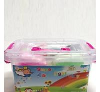 Тесто для лепки Детский пластилин Super Light Clay Niboshi 5D 24 цветов Код:200-19817597