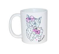 """Чашка с кошечкой """";Моя киця""""; Код:88-8718150"""