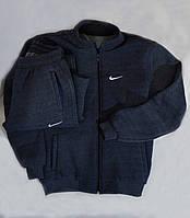 Очень тёплый спортивный костюм Nike с капюшоном, на молнии. Большие размеры