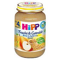 HiPP Фрукты и Зерновые: груша-яблоко 190 г, с 4-го мес.