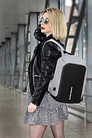 Рюкзак городской с USB, (3цв) рюкзак для ноутбука, рюкзак для гаджетов, фоторюкзак, рюкзаки оптом, дропшиппинг