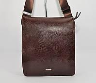Кожаная мужская сумка Desisan 1310-019 коричневая, фото 1