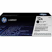 Картридж тонерный HP 12A для LJ 1010/1020/1022 2000 копий Black