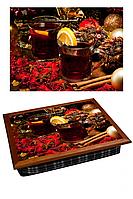 Поднос с подушкой Чай с Лимоном Код:380-9711207