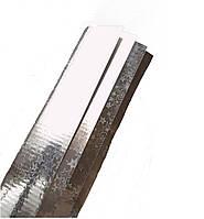 Подарочная бумага в листах Лазерная Голограмма Серебряная Звезды 10 листов 70x110 см, фото 1