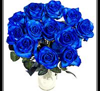 Букет долгосвежих роз Синий Сапфир Код:228-1841240
