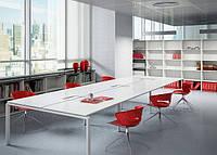 Столы офисные для переговоров на опорах KBS