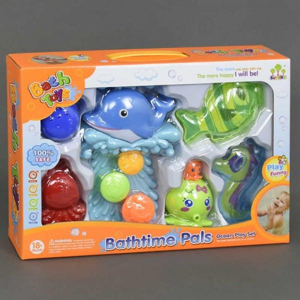 Набор игрушек для купания Дельфин или Черепашка