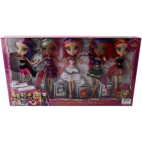 Кукла Ever After High с аксессуарами набор 5 шт
