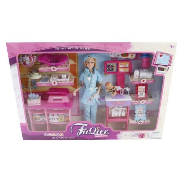 Кукла типа Барби Доктор с аксессуарами