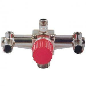 Контрольно-распределительный блок компрессора Intertool с регулятором давления (арт. PT-9092)