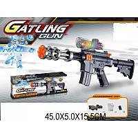 Автомат Gayling Gun стреляет гелевыми пулями (орбизами)
