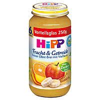 HiPP Изысканное пюре из цельного зерна и фруктов 250 г, с 6-го мес.