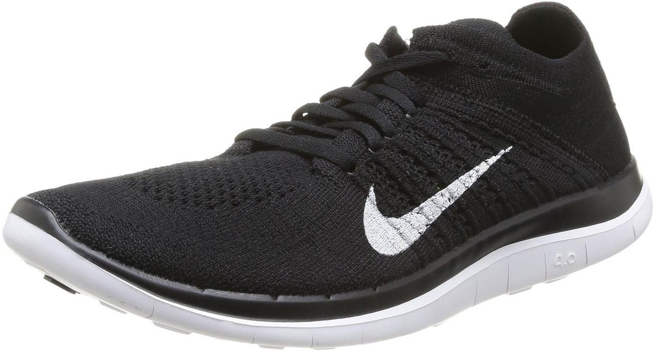 70eef5dd Найк женские кроссовки Nike Free Run Flyknit 4.0 black от