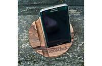 Подставка для смартфона Круг дерево Код:181-17815402