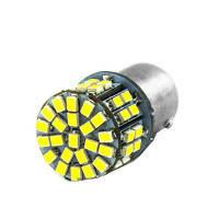 Светодиодная лампа цоколь T15, P21W (1156 BA15s) 54-SMD 3014, 630lm, 12В Код:314387921
