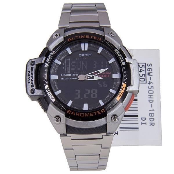 Часы Casio SGW-450HD-1B В.