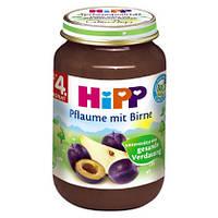 HiPP Пюре фруктовое: слива-груша 190 г,  с 4-го мес.