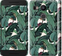 """Чехол на LG Nexus 5X H791 Банановые листья """"3078c-150-328"""""""