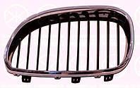 Решетка правая хромированная черный с хромированной рамкой 04 07- БМВ 5 Е60 BMW 5 E60 9.03-3.10 0066994