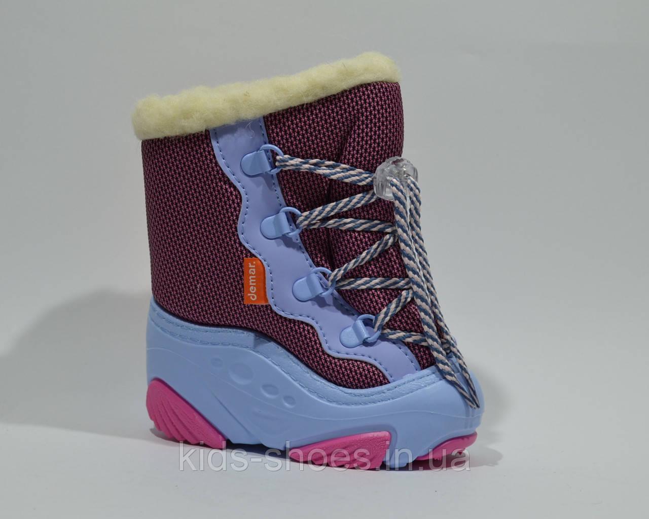 Дутики DEMAR SNOW MAR Розовые 1e0711605ee6c