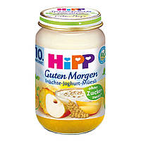 """HiPP Доброе утро """"фрукты-йогурт-мюсли"""" 160 г, с 10-го мес."""