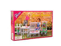 Игрушечная мебель для куклы Барби gloria 9876 Садовая мебель