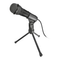 Настольный компьютерный микрофон trust starzz usb all-round microphone (21993)