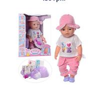 Кукла Baby Born (8020-466) 42 см, девочка, в летней одежде.