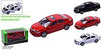 Машины металлические 7814 Наш Автопром , открываются двери, батар., свет, звук в кор.18*9*9 см.
