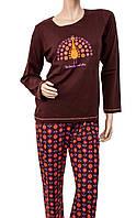 Пижама MUZZY 399/14, размер L (наш 48) , хлопок, Польша
