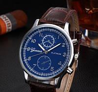 Часы мужские Geneva Platinum коричневые