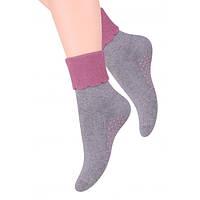 Носки женские махровые с ABS STEVEN 126 ABS DAMSKIE, хлопок, размеры  35-37 38-40 35-37 микс цветов, фото 1