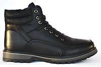 Ботинки зимние, мужские, на меху из PU-кожи. Размеры 36, 38, 40. Meko Melo 1070.