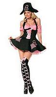"""Эротический ролевой (карнавальный) костюм """"Пиратка Карибского моря""""  Оks-8922"""