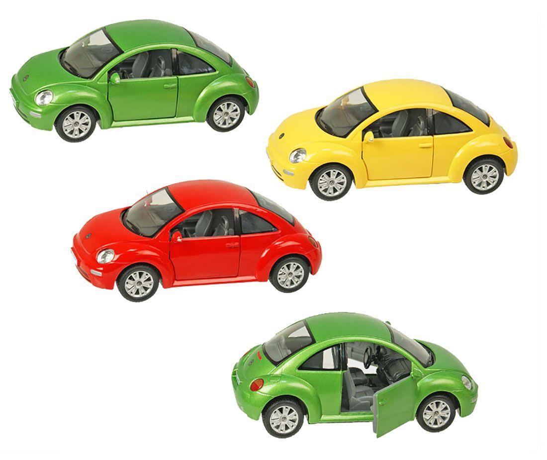 Машина металева KINSMART KT7003W Volkswagen New Beetle, в коробці 20*9*9,5 см - Киндермир інтернет магазин - іграшки, шкільні рюкзаки та канцтовари Продаж рюкзаків т.+380931402185 в Чернігові