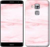 """Чехол на Huawei Nova Plus розовый мрамор """"3860c-961-328"""""""