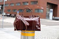 Мужской кожаный саквояж, Коричневая дорожная сумка кожаная