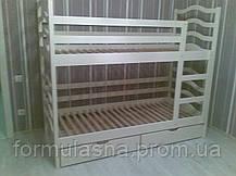 Кровать двухъярусная София с подкроватными ящиками, фото 2