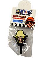 Заглушка антипыль на телефон  One Piece