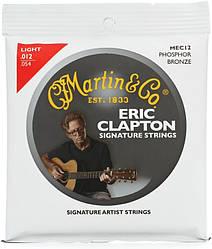 Струны для гитары MARTIN MEC12 Clapton's Choice Phosphor Bronze Light (12-54)