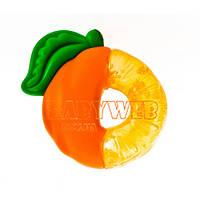 Прорезыватель с термогелем  Яблоко ,  Апельсин  и  Клубника