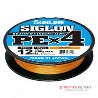 Sunline Шнур Sunline Siglon PE х4 150m (оранж.) #2.5/0.270mm 40lb/18.5kg
